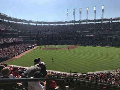Progressive Field, section: 304, row: F, seat: 25