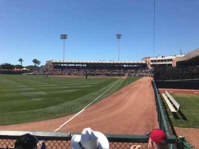 Ed Smith Stadium, section: 127, row: 2, seat: 17