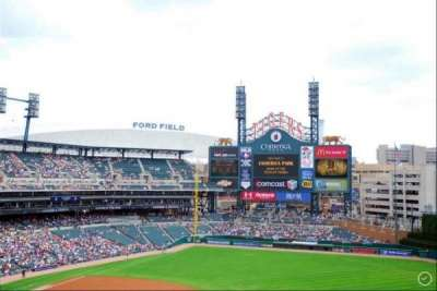 Comerica Park section 217
