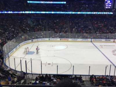 Amalie Arena, section: 203, row: B, seat: 8