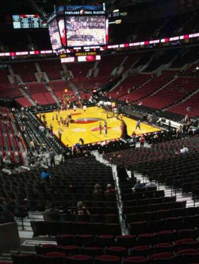 Moda Center, section: 210, row: j, seat: 11