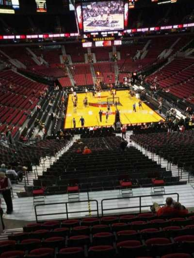 Moda Center, section: 209, row: k, seat: 9