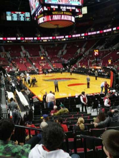 Moda Center, section: 119, row: c, seat: 5