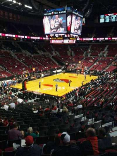 Moda Center, section: 221, row: g, seat: 7