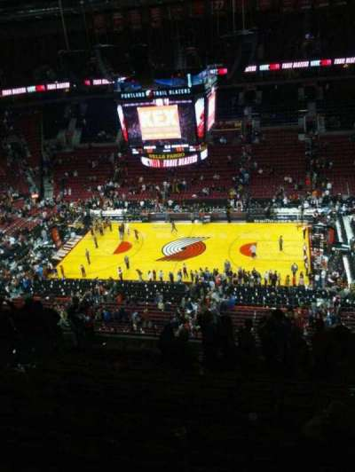 Moda Center, section: 317, row: n, seat: 5