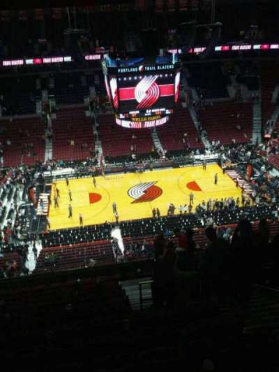 Moda Center, section: 319, row: o, seat: 5
