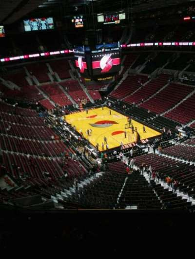 Moda Center, section: 329, row: k, seat: 9
