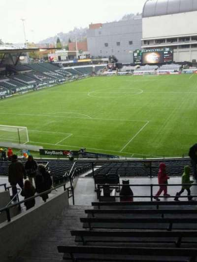 Providence Park, section: 210, row: j, seat: 3