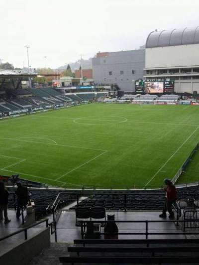 Providence Park, section: 211, row: j, seat: 3