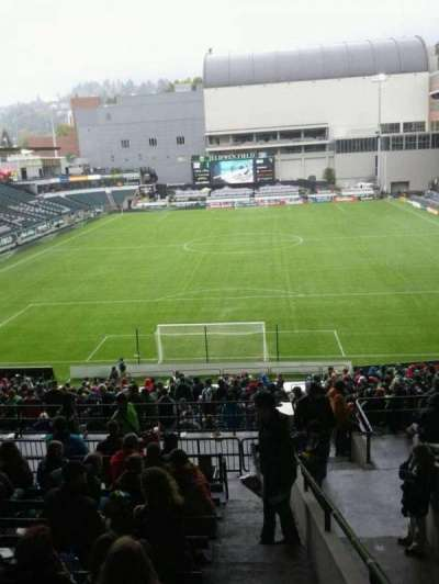 Providence Park, section: 207, row: k, seat: 22