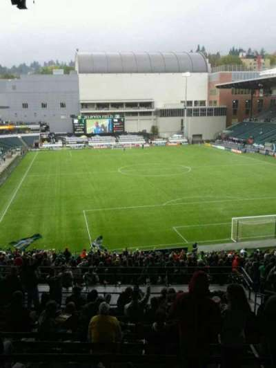 Providence Park, section: 205, row: n, seat: 17