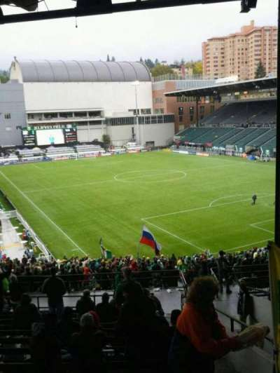 Providence Park, section: 203, row: o, seat: 22