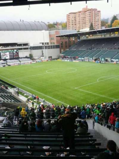 Providence Park, section: 202, row: o, seat: 18