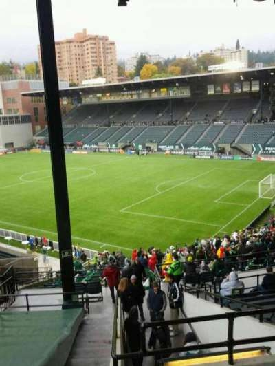 Providence Park, section: 201, row: o, seat: 5