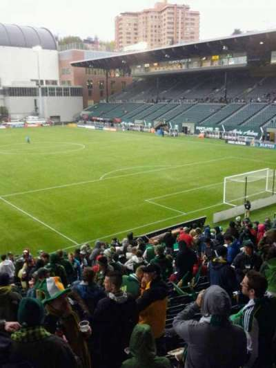 Providence Park, section: 104, row: r, seat: 5