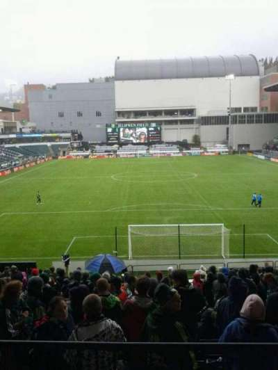 Providence Park, section: 107, row: r, seat: 9