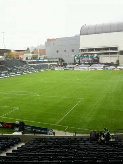 Providence Park, section: 110, row: r, seat: 9