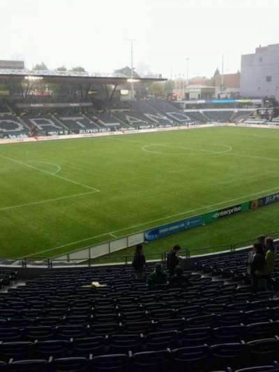 Providence Park, section: 113, row: r, seat: 8