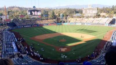 Dodger Stadium, section: 1RS, row: E, seat: 11