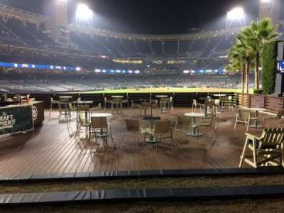 PETCO Park, section: Craft Pier