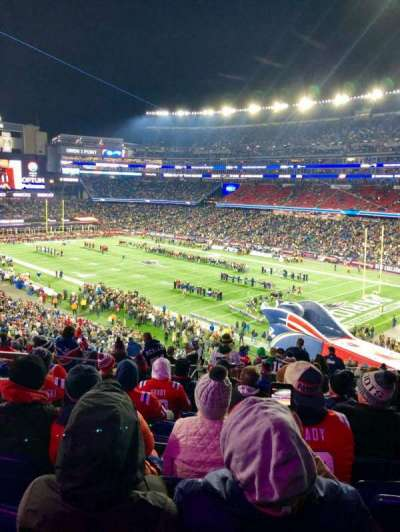 Gillette Stadium section 203