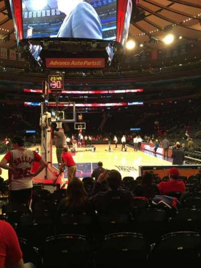Madison Square Garden, section: Baseline 2, row: 9, seat: 15