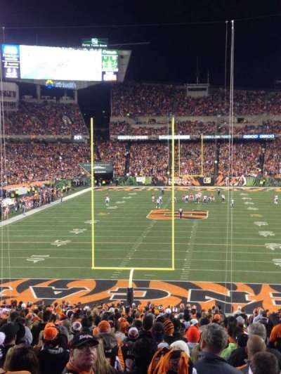 Paul Brown Stadium, section: 152, row: 41, seat: 8