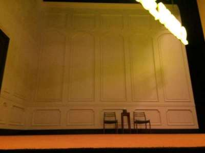 John Golden Theatre, section: Orchestra, row: A, seat: 115