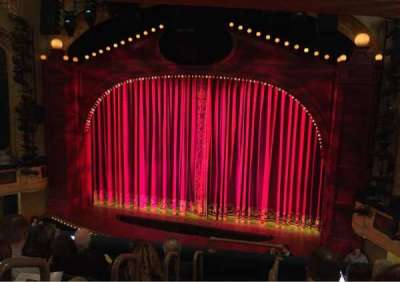 Shubert Theatre, section: Mezzanine Right, row: F, seat: 2