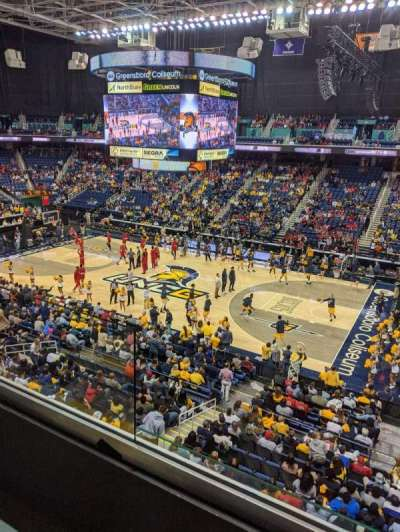 Greensboro Coliseum, section: 214, row: A, seat: 5