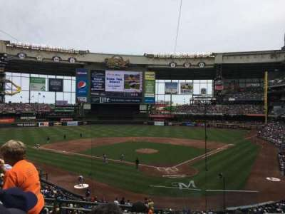 Miller Park, section: 220, row: 5, seat: 1