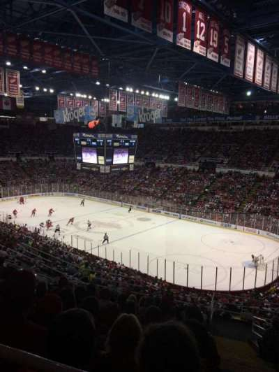 Joe Louis Arena, section: 218A, row: 14, seat: 1