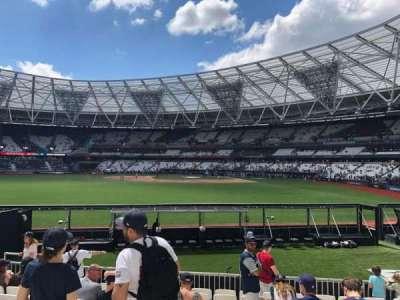 London Stadium section 142