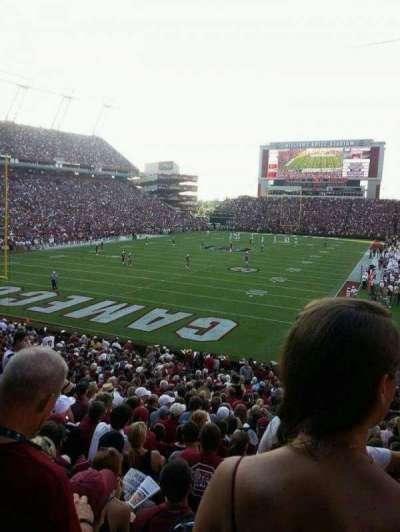 Williams-Brice Stadium, section: 14, row: 28, seat: 20