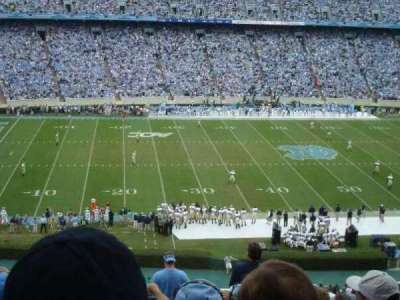 Kenan Memorial Stadium, section: 204, row: P, seat: 28