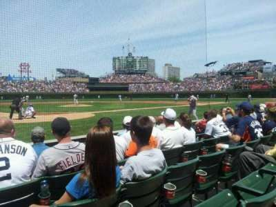 Wrigley Field, section: 24, row: 3, seat: 1