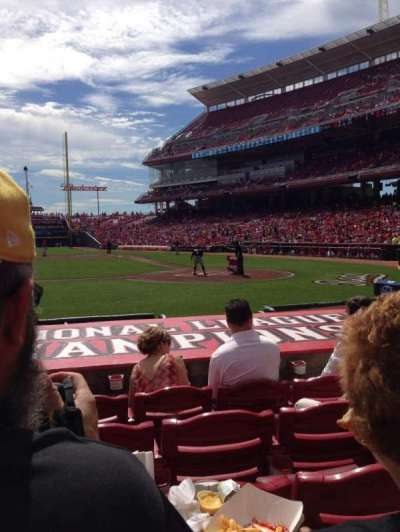 Great American Ball Park section 118