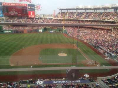 Nationals Park, section: 308, row: A, seat: 3