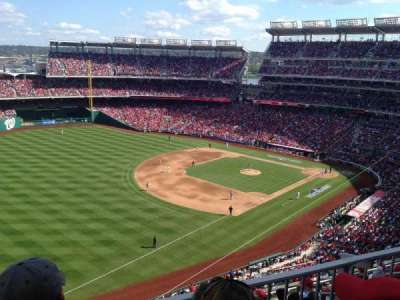 Nationals Park, section: 303, row: K, seat: 8