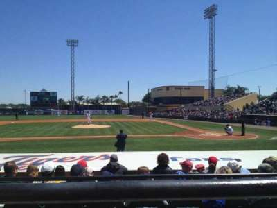 Joker Marchant Stadium, section: 210, row: A, seat: 8