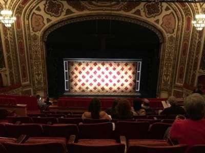 Cadillac Palace Theater, section: Balc-c, row: K, seat: 313