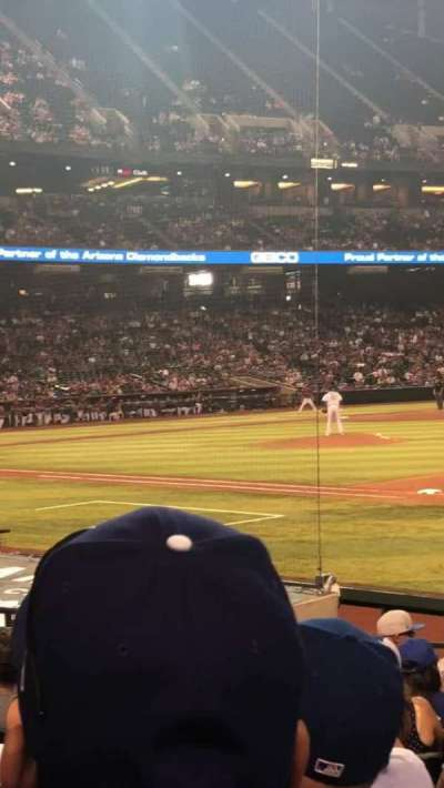 Chase Field section 114