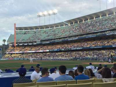 Dodger Stadium, section: 21FD, row: B, seat: 3