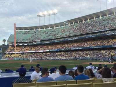 Dodger Stadium, section: 21FD, row: B, seat: 3
