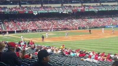 Angel Stadium, section: F131, row: Z, seat: 18