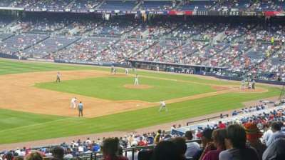 Turner Field, section: 224, row: 15, seat: 110