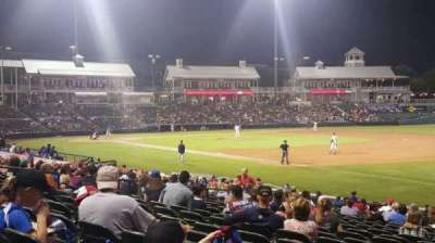 Dr Pepper Ballpark, section: 123, row: 23, seat: 1