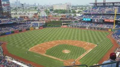 Citizens Bank Park, section: 422, row: 9, seat: 4