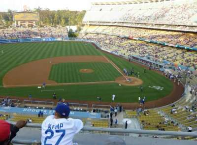 Dodger Stadium section 15RS