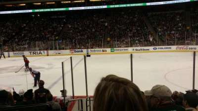 Xcel Energy Center, section: 115, row: 9, seat: 18